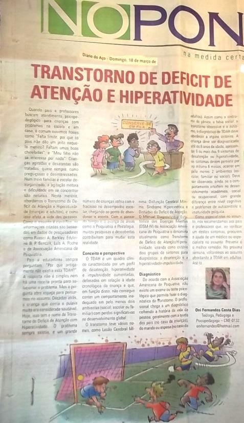 TDAH Oní Fernandes